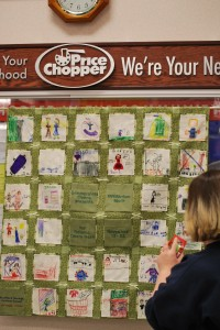The Richfield Springs Central School Quilt at Price Chopper