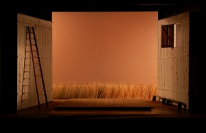 Set model for The Tender Land