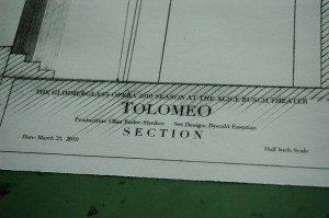 Design Drawing for Tolomeo