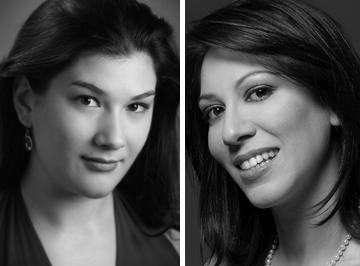 Glimmerglass Opera Young America Artists: mezzo-soprano Annie Rosen & soprano Eleni Calenos