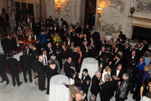 The Gala was held at The Metropolitan Club in New York City.