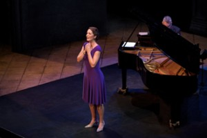 Jamilyn Sings a Solo in the Killer B's Concert Accompanied by Steven Blier