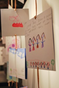 OPERA-tion Arts Gallery displays second graders' thoughts on opera.
