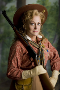 Deborah Voigt as Annie Oakley. Photo: Luke Ratray