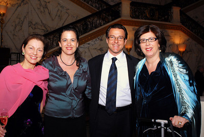 Board Chair Betty Eveillard, Julie and Nathan Gunn, Artistic & General Director Francesca Zambello
