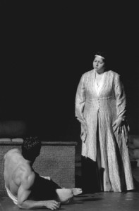 "Christine Goerke in the title role of ""Iphigenie en Tauride."""