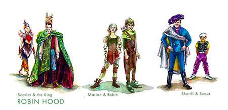 Robin Hood Conceptual Design