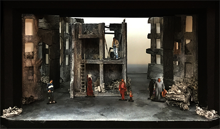 The Siege of Calais Scenic Design: James Noone