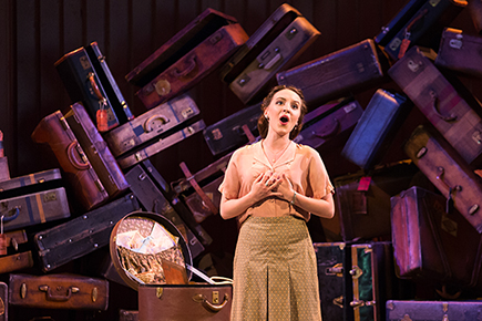 Emily Pogorelc as Berenice in Lost Luggage. Photo: Karli Cadel